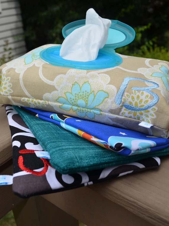Wipes cover. Love the Velcro on the side and pull out top. Making this ASAP for the diaper bag