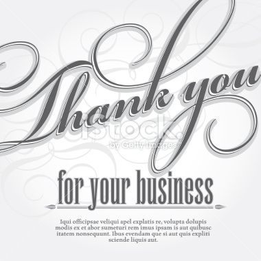 102 best Thank You Cards images on Pinterest Business thank you - business thank you card template