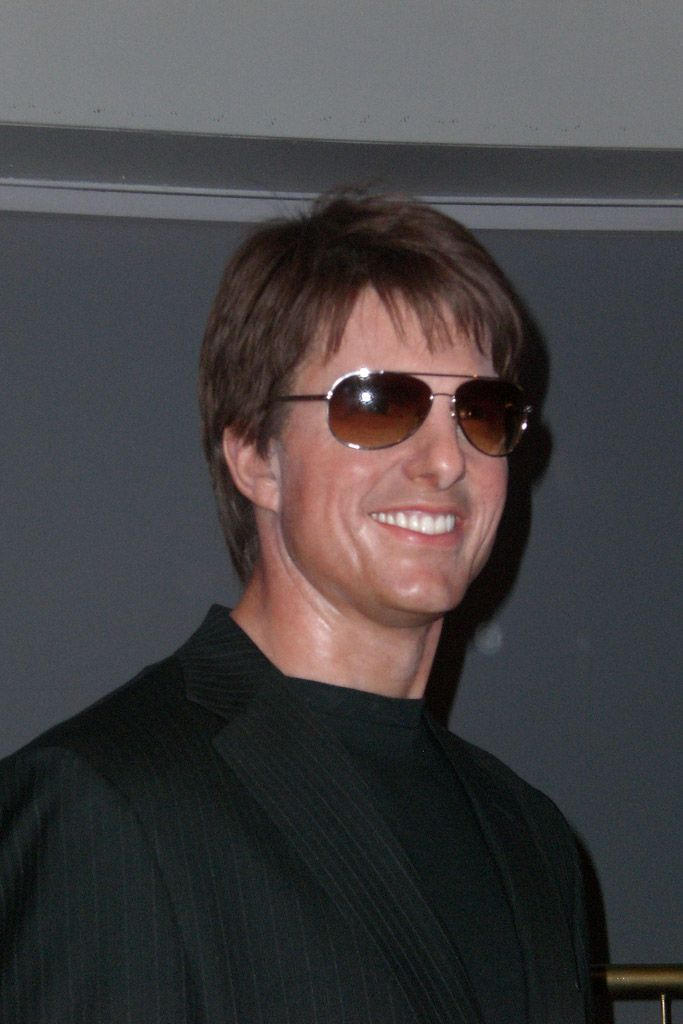 Madame Tussauds Wax Museum in London (9. Definitely one of the better ones of Tom Cruise)