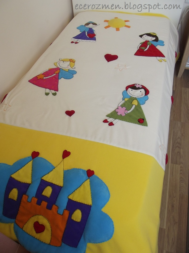 'peri' yatak örtüsü