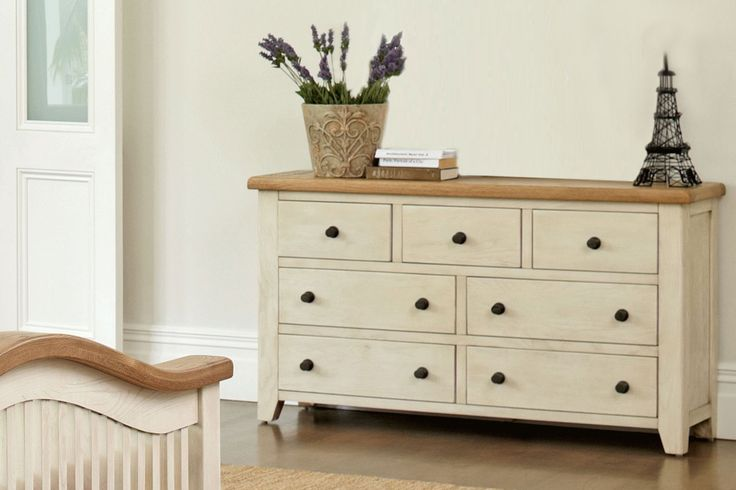Mansfield 7 Drawer Lowboy by Debonaire Furniture