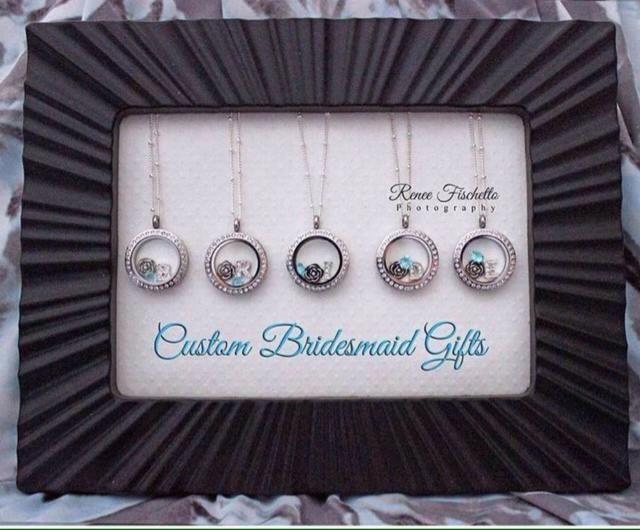 Custom #Bridesmaid Gifts! #SouthHillDesigns #SHD #locket #charms #wedding