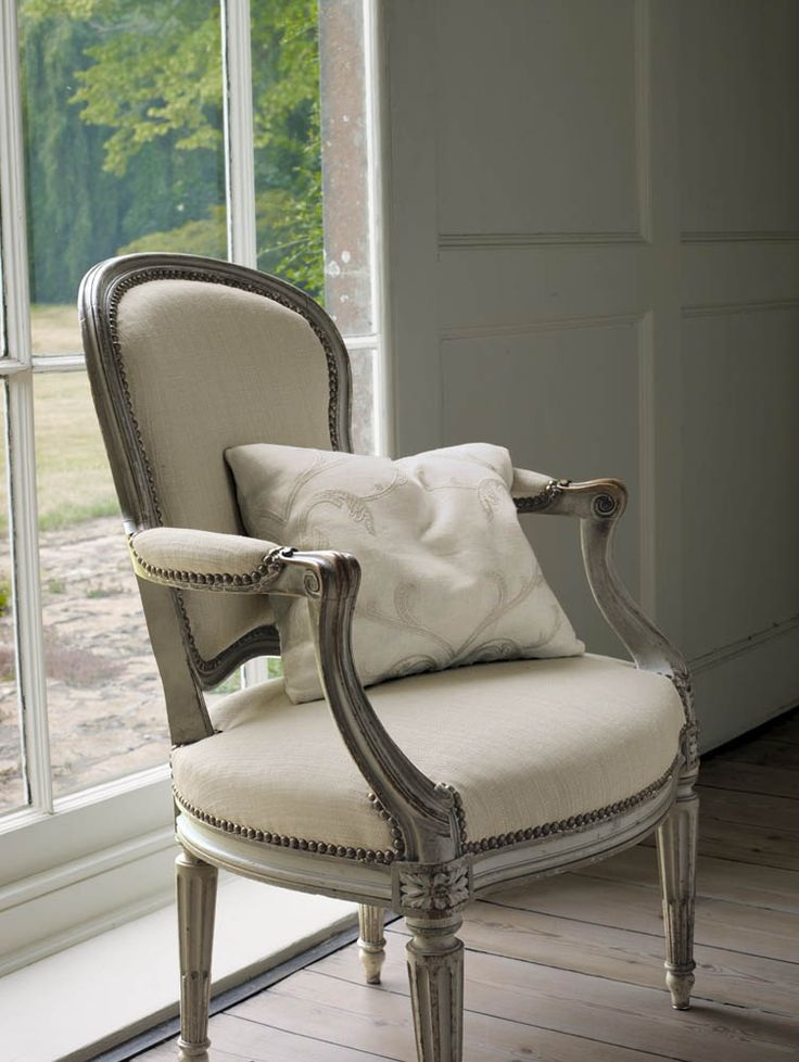 Colefax And Fowleru0027s Claydon (chair), And Vienne (pillow) #colefaxandfowler  #