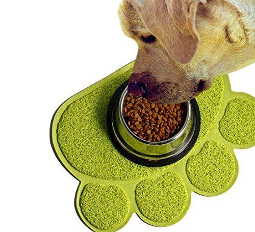 Easylifer katzenstreu matte rutschfesten pet food wassernapf placemat matte haustier f�ttern(S,Gr�n)