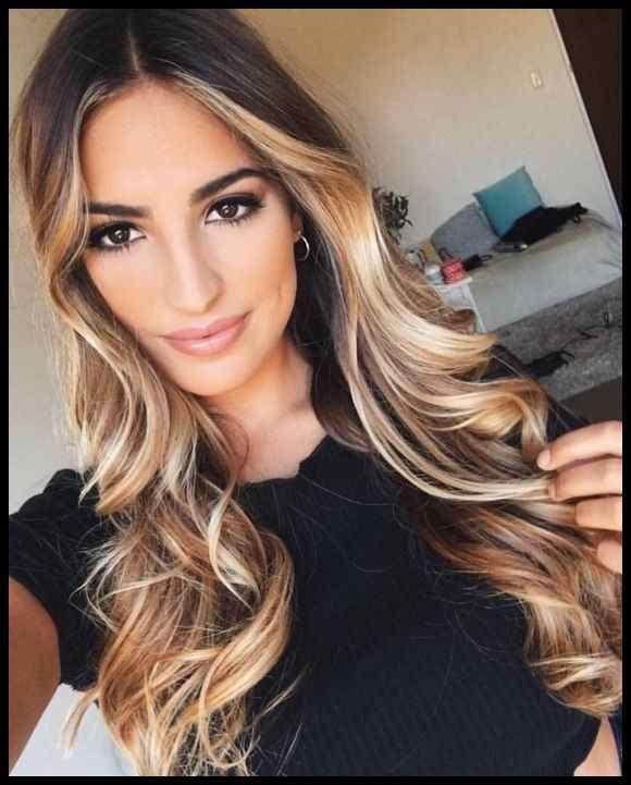 Am beliebtesten Neueste Ombre Haarfarben Frisurentrends 2018-2019 … | Frisuren T …