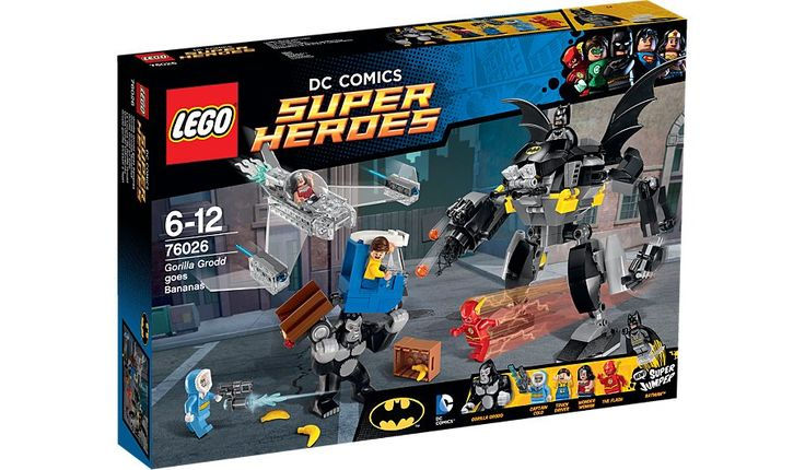 LEGO DC Comics Justice League - Gorilla Grodd goes Bananas - 76026, read reviews and buy online at George at ASDA. Shop from our latest range in Kids. Gorill...