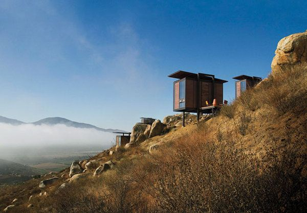 Ensenada: a tiny, breathtaking retreat high on a hillside in the Mexican desert.