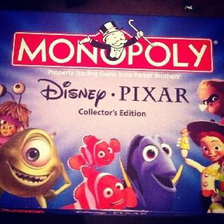 how to play disney pixar monopoly