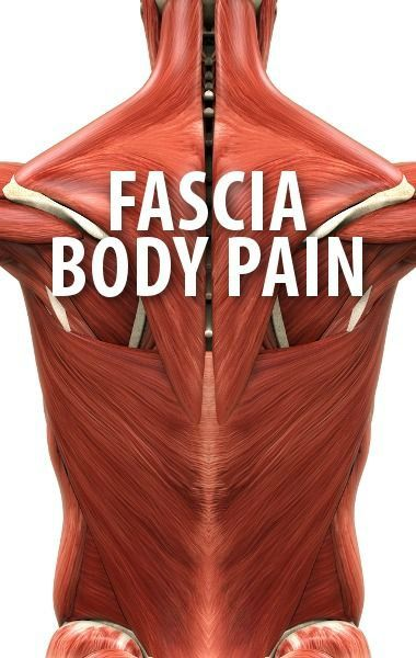 Dr Oz explained how the Fascia runs through the body and why our regular activities could inflame it. Try a foam roller workout next time you get back pain.