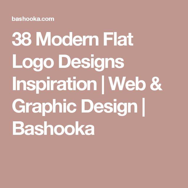 38 Modern Flat Logo Designs Inspiration | Web & Graphic Design | Bashooka