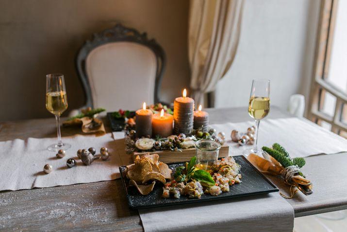 Меню на Новый год: рецепты тар-тара из трески и салата с козьим сыром