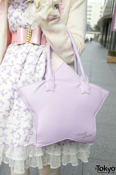 sweet lolita with Angelic Pretty star bag