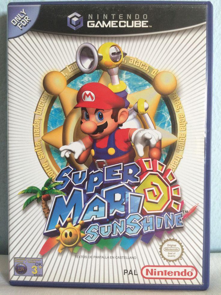 Super Mario Sunshine game.