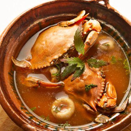 Crab soup Mexican food. ¡Así se come en Veracruz! 10 Delicias Gastronómicas