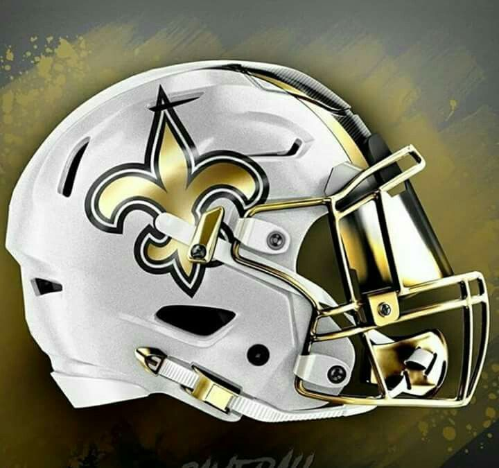 New Orleans Saints Helmet Football Helmets Cool Football