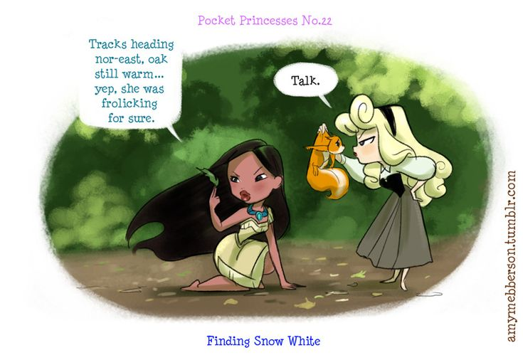 Pocket Princesses 22. DARN it, she's gone AGAIN!!