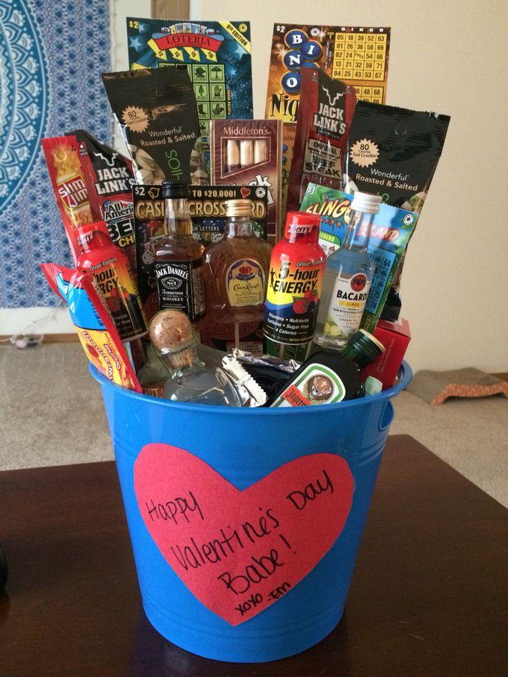 Liquor Gift Baskets For Men Gift Ftempo