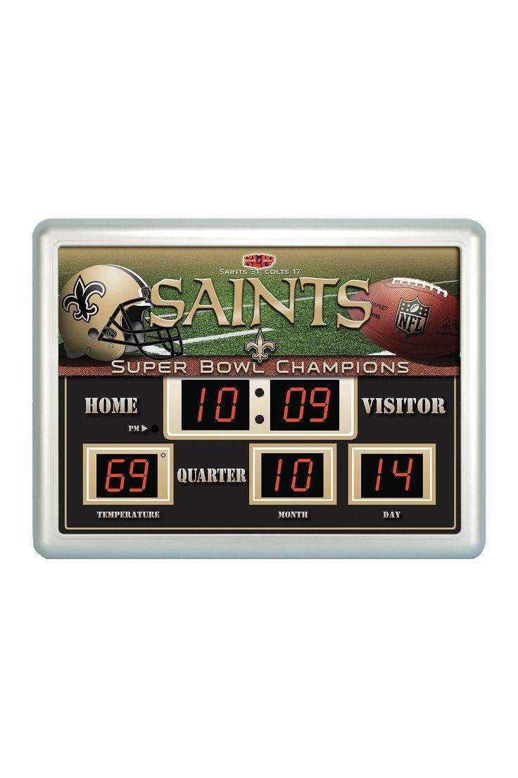 NFL Scoreboard Clock Thermometer on @HauteLook