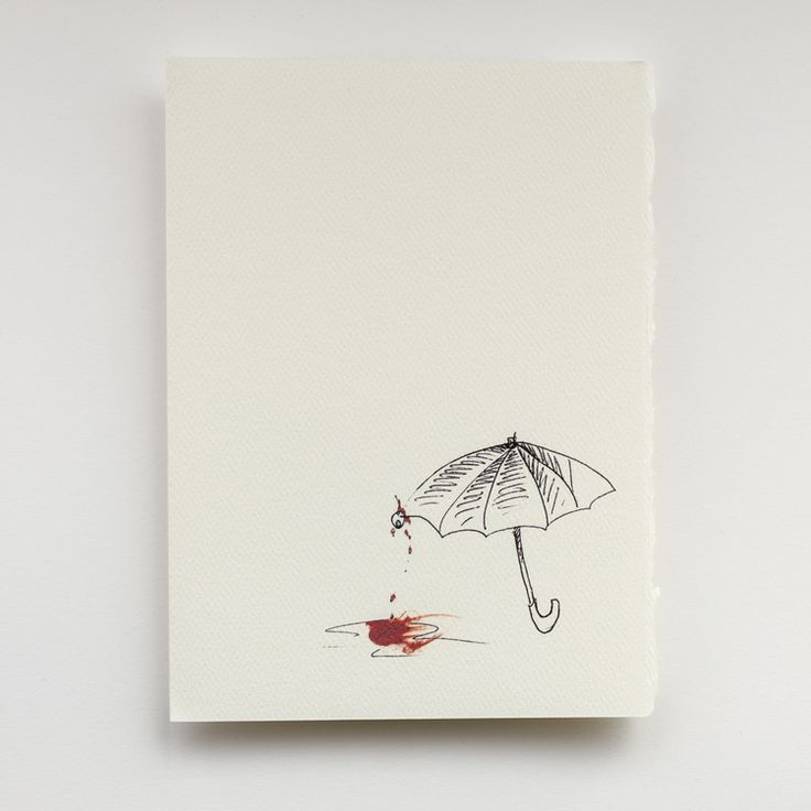 Proper Etiquette For Signing A Greeting Card: Umbrella Etiquette Greeting Card
