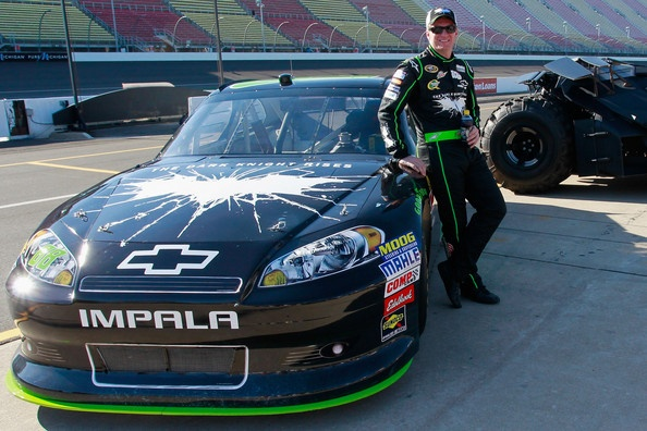 Dale Earnhardt Jr. Wins Quicken Loans 400 Race in The Dark Knight Rises Sponsored Car on http://www.shockya.com/news