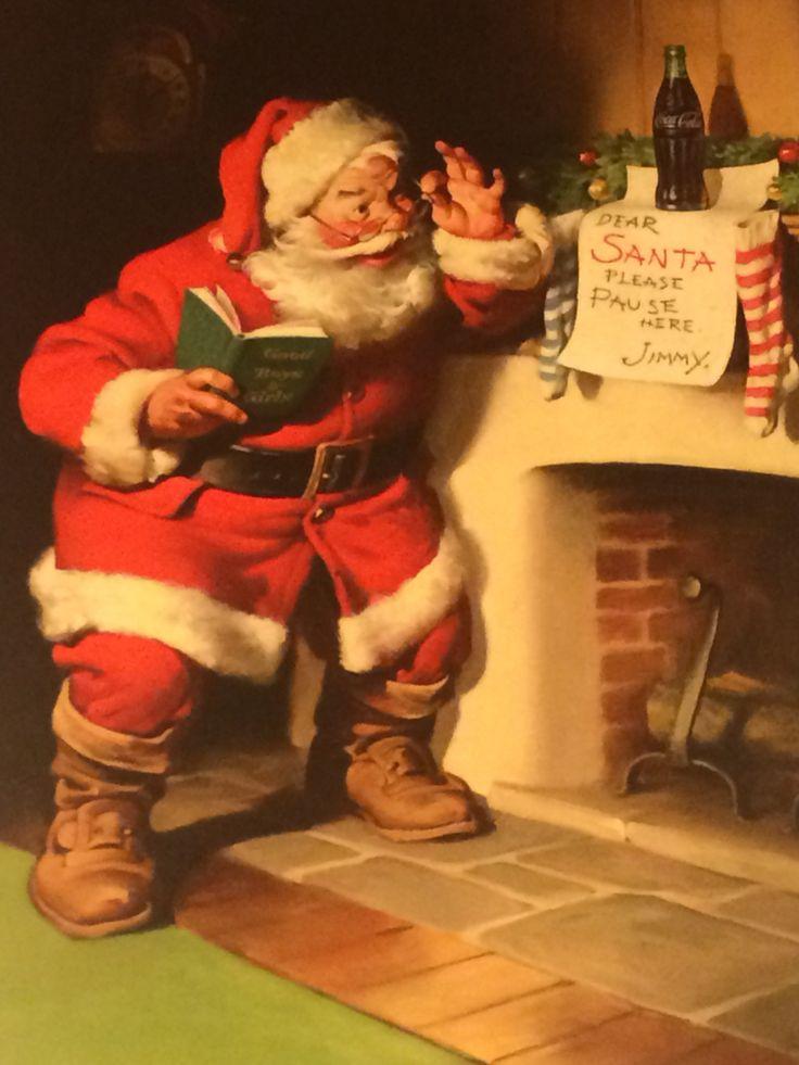 #coke Santa and ...