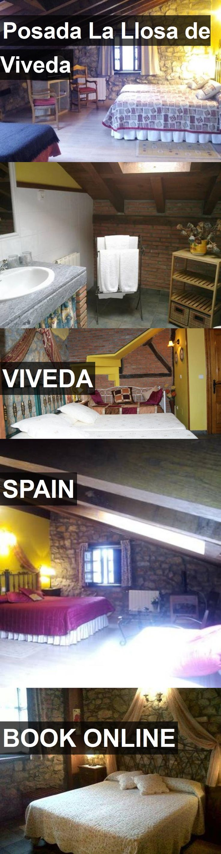 Hotel Posada La Llosa de Viveda in Viveda, Spain. For more information, photos, reviews and best prices please follow the link. #Spain #Viveda #travel #vacation #hotel