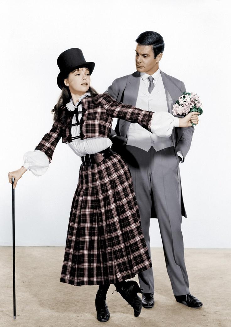 Leslie Caron and Louis Jourdan