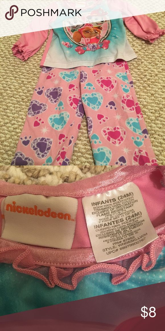 Toddler Paw Patrol Pajamas Toddler Paw Patrol Pajamas - top is silky, bottom are super soft! Pajamas Pajama Sets