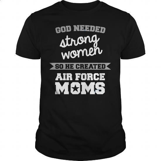 AIR FORCE MOMS - #tees #hoodies for boys. I WANT THIS => https://www.sunfrog.com/Political/AIR-FORCE-MOMS-Black-Guys.html?60505