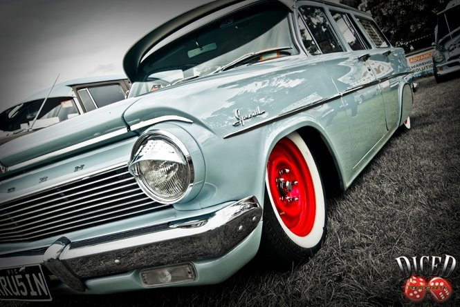 ◆ Visit MACHINE Shop Café... ◆ ~ Aussie Custom Cars & Bikes ~ Holden EH Special Station Wagon
