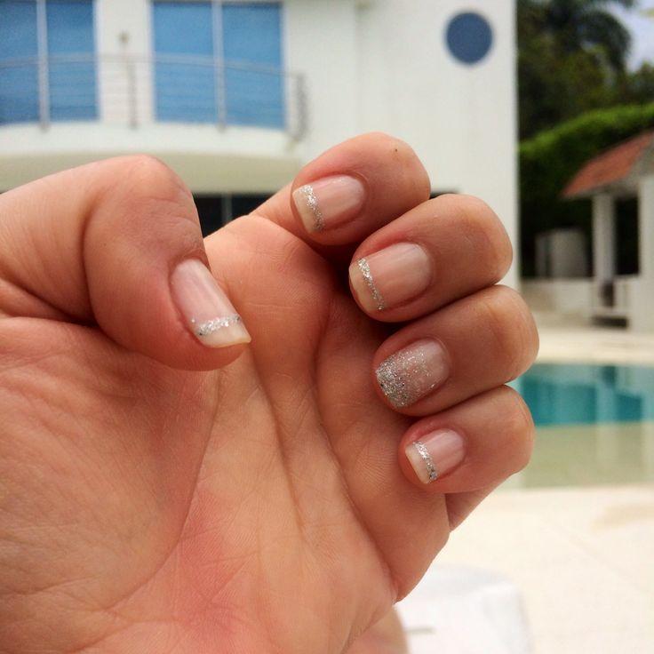 #nails #silver #nails-art by @zafiro orozco