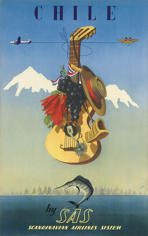 Vintage Dali-esque Travel Posters We Like.