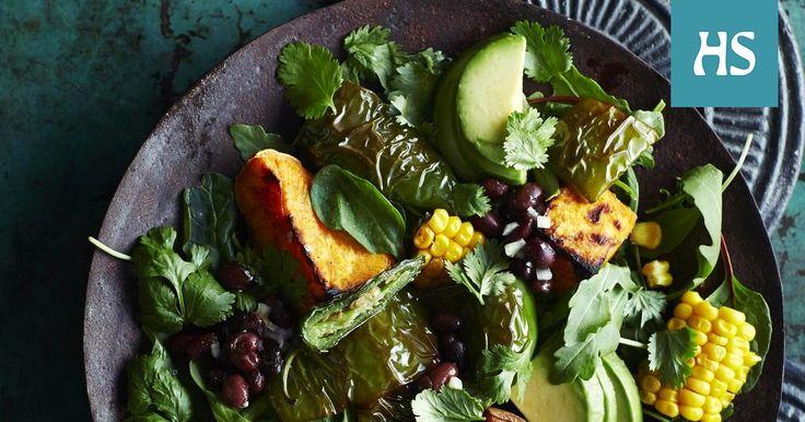 Käytä papuja vaikka meksikolaishenkiseen salaattiin. Värikäs salaatti maistuu sellaisenaan tai grillatun lihan tai kalan kumppanina.