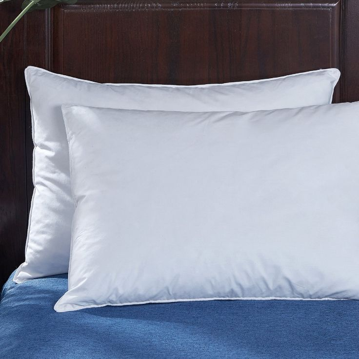 St. James Home Goose Feather Bed Pillow