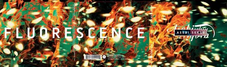Images by Marc Atkins. Asobi Seksu CD album and vinyl. Design by Vaughan Oliver at v23.