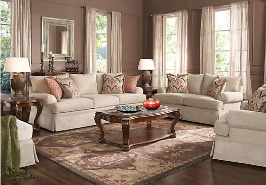 Shop for a cindy crawford home bennington 5 pc living room for Cindy crawford living room furniture