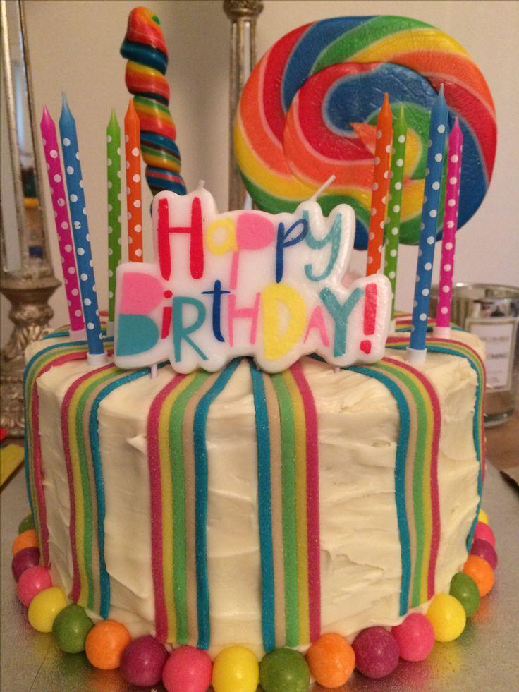 5 layer piñata cake