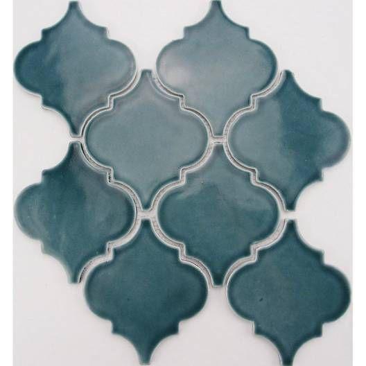 Mosaïque mur Antik médaillon bleu ARTENS en 2019 | Mosaique ...