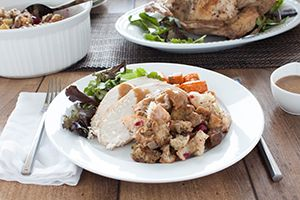 Make your next holiday tradition one your family can't ever go without again. Our traditional stuffing will easily become the star of your next celebratory meal. @DinnerByDesign