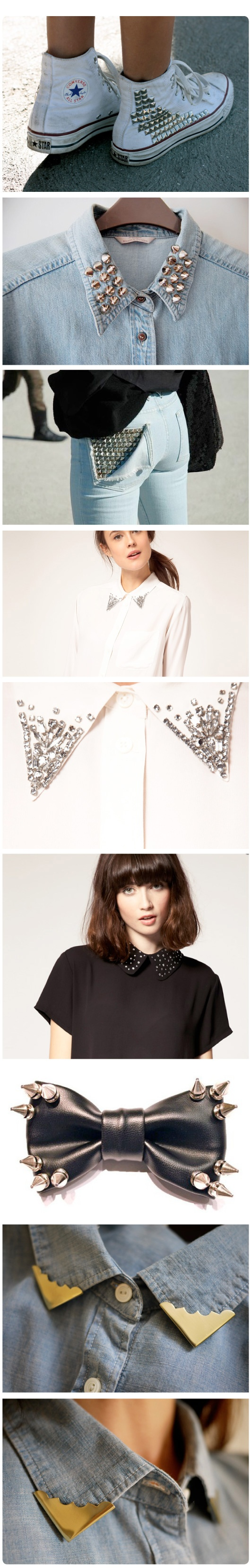 studded collars and things