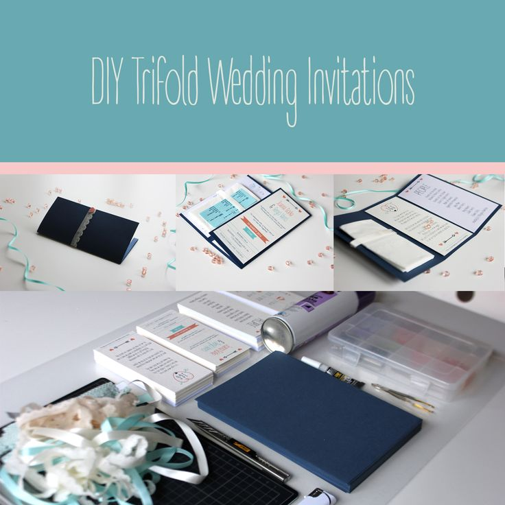 DIY Trifold Wedding Invitations  | Varró Joanna Design | Graphic Design Tips | Designer | Freelancer | Inspiration | Graphic Design | Graphic Designer