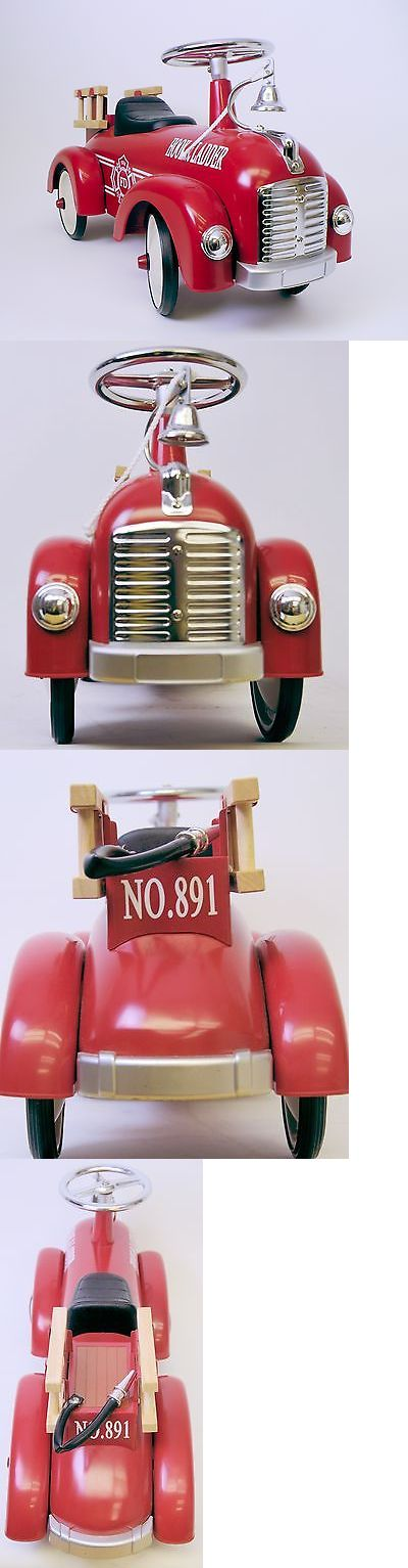 1970-Now 19022: Speedster Kids Ride On Scoot Along Fire Truck (Red) Hook And Ladder -> BUY IT NOW ONLY: $109.95 on eBay!
