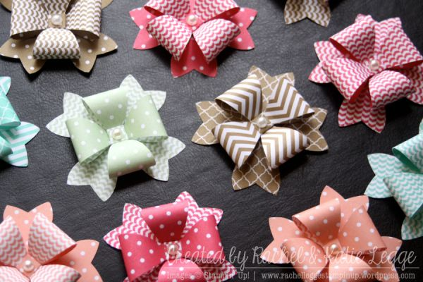 Bow Punch Gift Box Topper – Rachel Legge ~ Independent Stampin' Up! Demonstrator