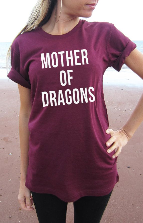 Mother of Dragons T-shirt shirt tee High Quality by Tmeprinting