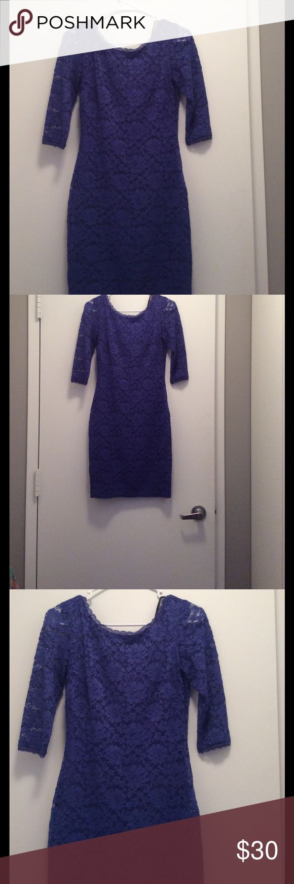 Lace laundry dress purple size 0 used Forever 21 high low blouse floral size M used.  Brand from Nordstrom laundry Dresses