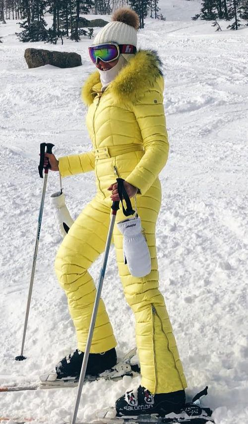 843ee02c6a conso yellow1 (skisuitguy) Tags  skisuit snowsuit ski snow suit skiing  skifashion skiwear skioutfit onepieceskisuit onepiecesuit onesie onepiece  skibunny ...