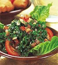 Tabbouli - persiljesallad