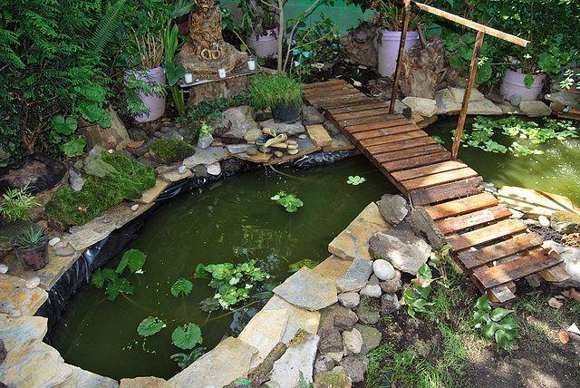 Peque os puentes de jardin buscar con google puentes for Piscina para tortugas