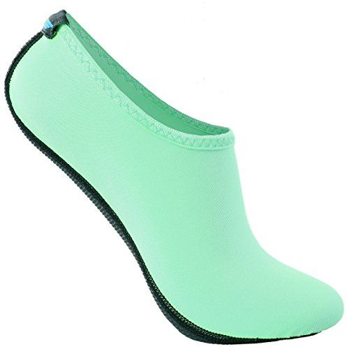 BBA Quick-Dry Ultra Light Weight Water Skin Shoes Neoprene Low Cut Aqua Shoes/IAS001-MINT-L -- You can find out more details at the link of the image.