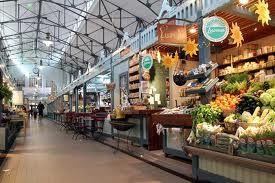 Market in Tampere, biggest in Scandinavia